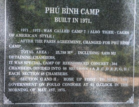 Plaque for Trai Phu Binh