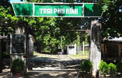 Trai Phu Binh Entrance