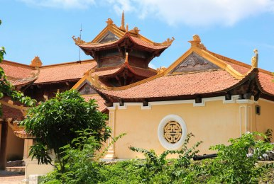 The main building of the pagoda