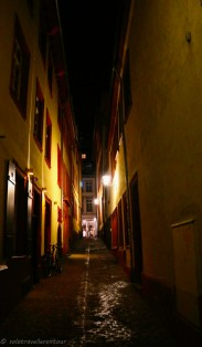 One of the little alleys in the Old Town