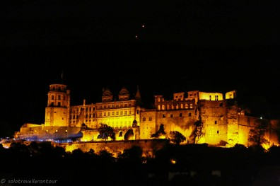 The castle by night
