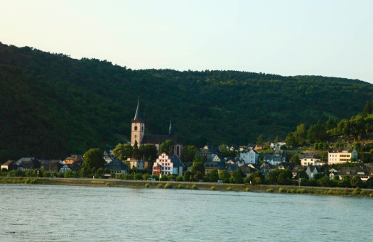 One village along the river Rhine