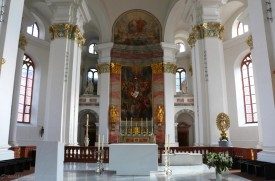 The altar of the Jesuitenkirche