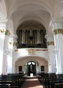 One of the organ inside the Jesuitenkirche