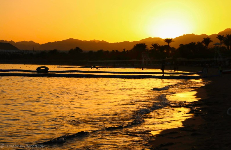 Sunset at Naama Bay