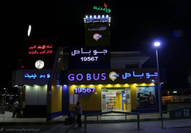 The GoBus office at Wantanya