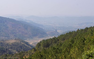 View from DT725 outside of Dalat
