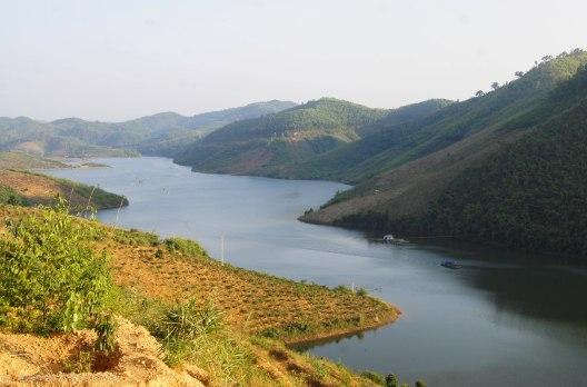 View over lake Buco Dong