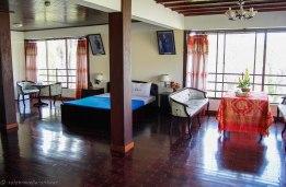 The main bedroom at Dinh Bảo Đại