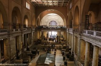 Inside the impressive museum