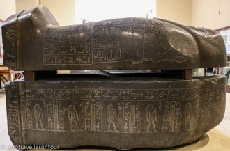 One of the many sarcophagus you can find in the museum