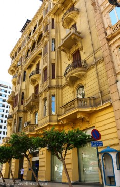 Building in the centre of Cairo