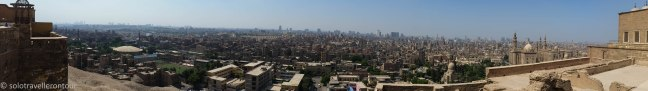 Great view of Cairo from the fortress