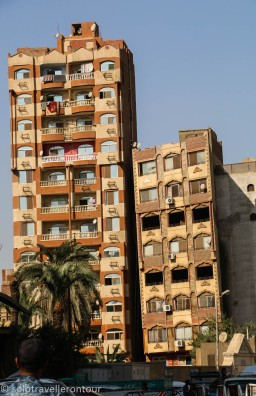 Cairo has its own very leaning building