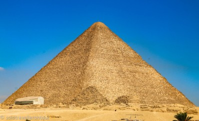 The Great Pyramid - a wonder of the world