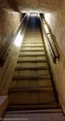 The stairs to the exit / entrance. Careful with these iron bars