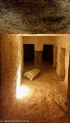 The room at the bottom of the pyramid