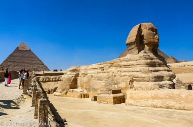 The beautiful and very impressive Sphinx