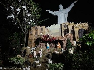 Nativity Scene at the Pink Church