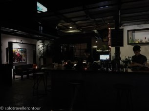 Inside Goca Bar