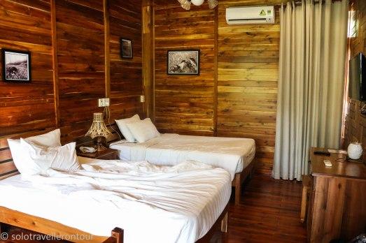 The bungalow bedroom