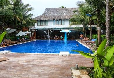 The resort pool