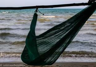 The hammock and the sea