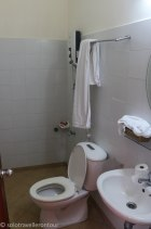 Standard Vietnamese toilet