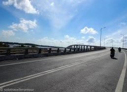 Heading to My Loi Bridge
