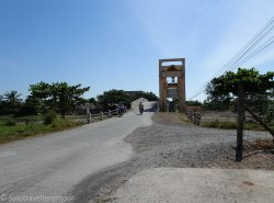 The bridge and flood gate