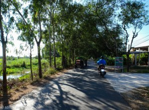 One of the roads that are made for motorbike riding