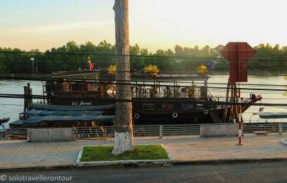 Ben Tre riverfront