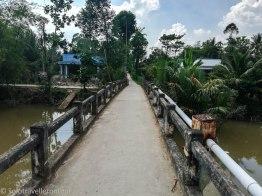 Little bridge for a little stream