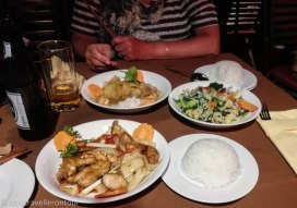 Our main courses at Sao Hom
