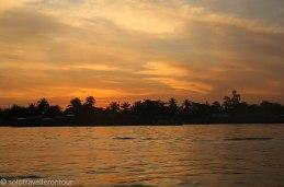 Sunrise over the Mekong