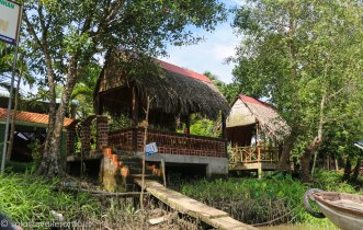Stopping at My Thuan homestay