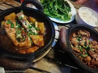 Dinner at the Mekong Restaurant