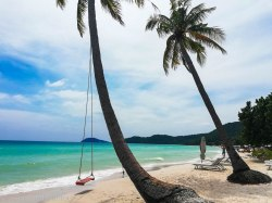 The ever so popular beach swing