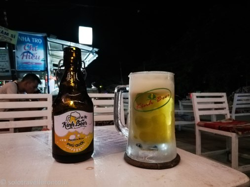 Last beer on Phu Quoc