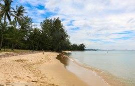 Beach next to Coco Palm Resort