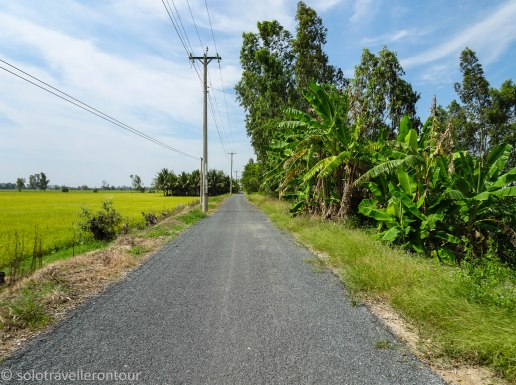 The road to Nui Ba
