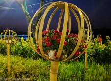 Flowers and the starlight bridge