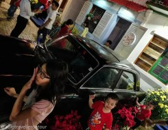 Vietnamese love the Tet decorations