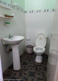 Standard Vietnamese bathroom
