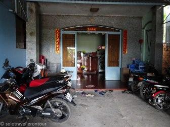 Secured Motorbike parking