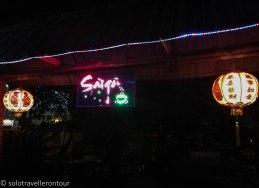 In Saigon while away from Saigon