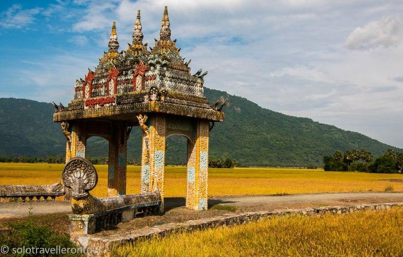 Stunning scenery awaits anyone traveling from Tri Ton to Chau Doc