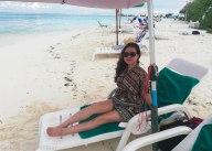 Enjoying the lazy life of the island