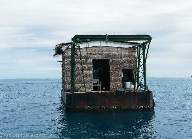 House boat Maldives Style